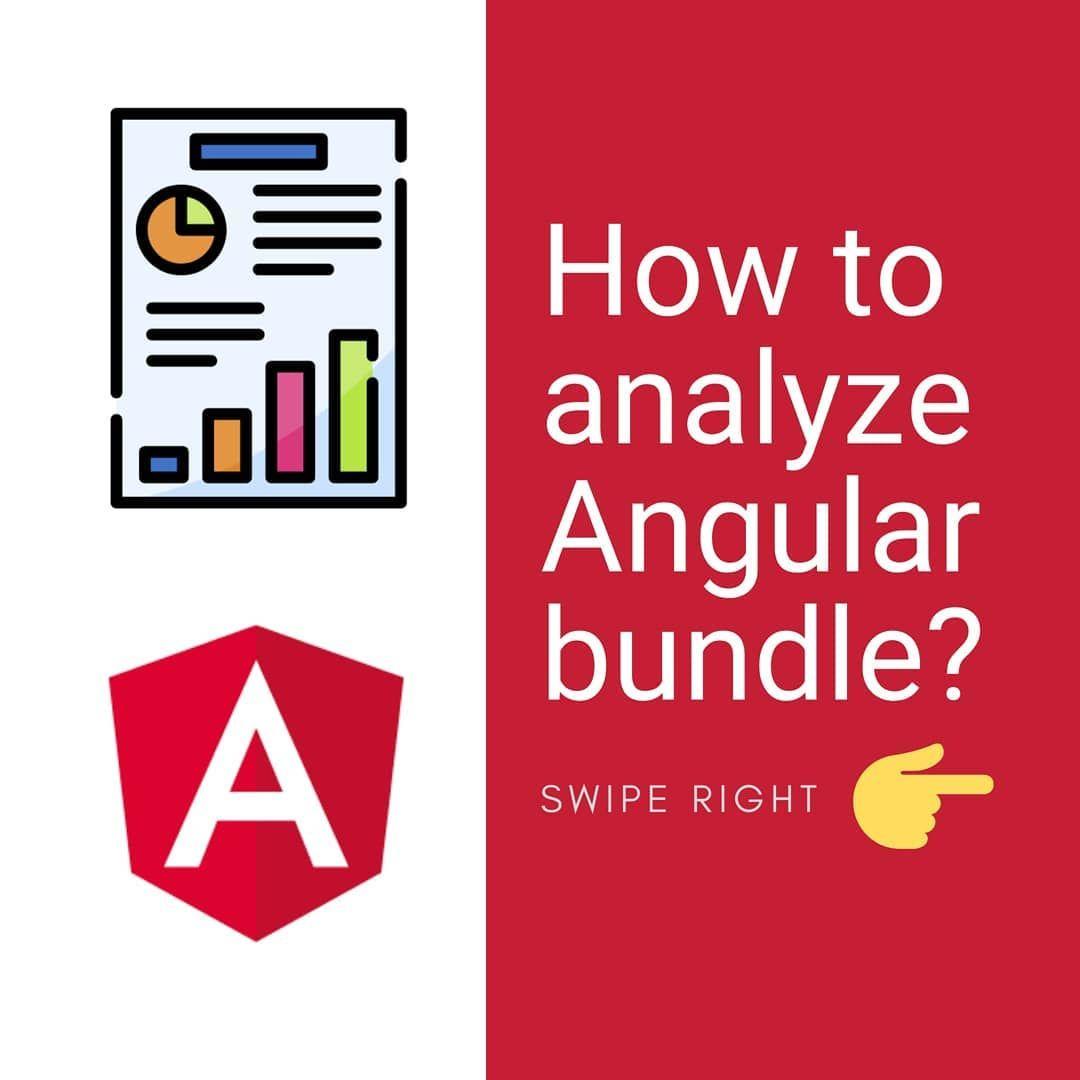 How to analyze angular bundle