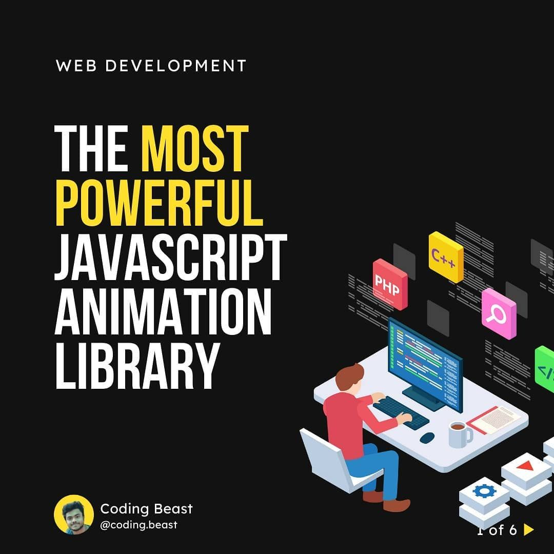 The most powerful javascript animation library