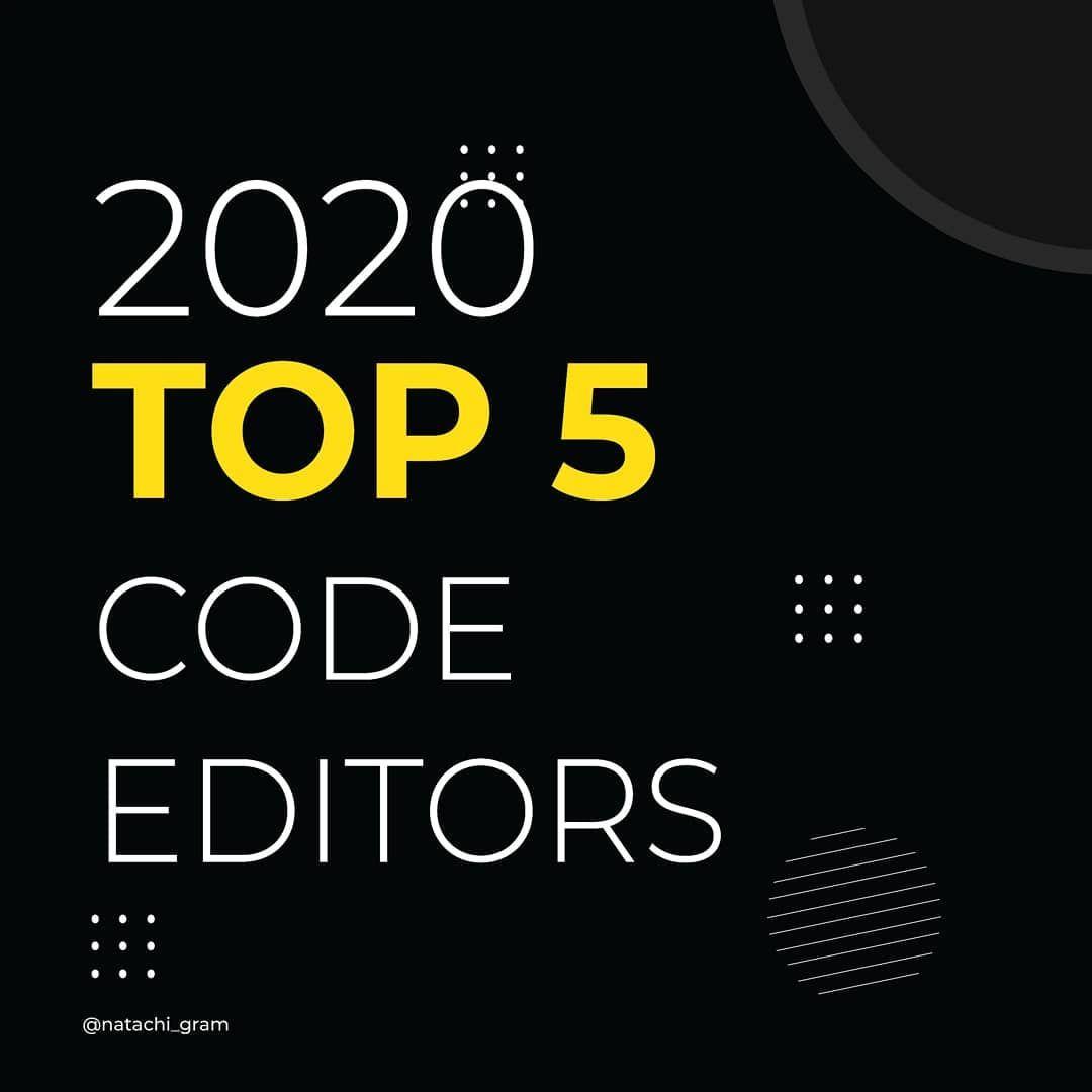 Top 5 code editors