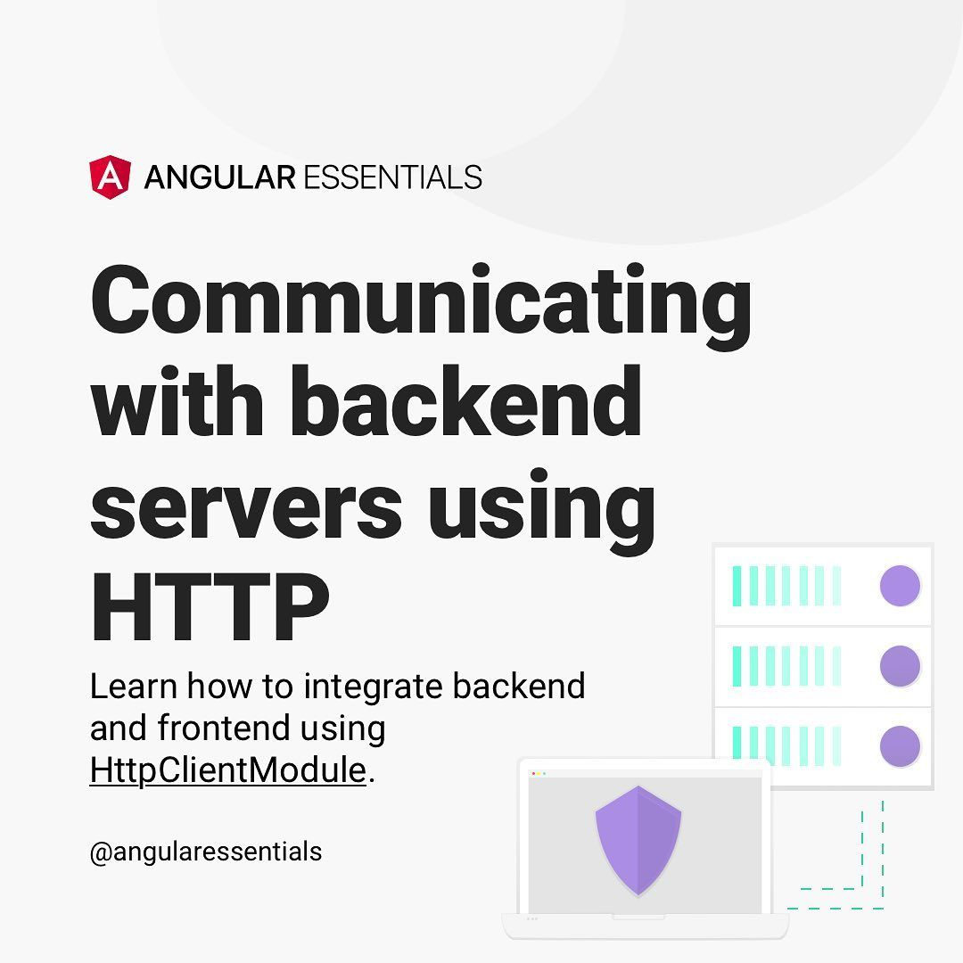 Communicating with backend servers usign