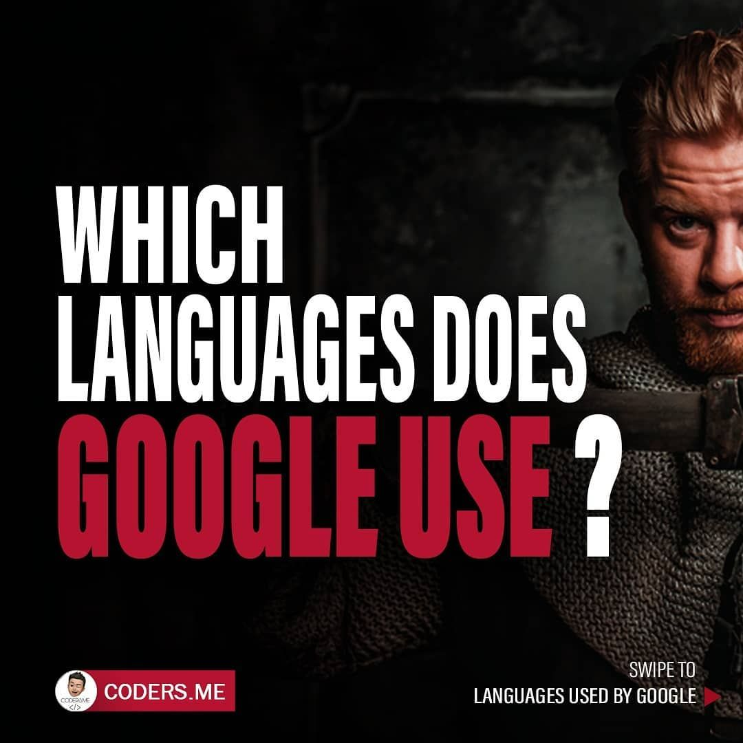 Which languages does google use