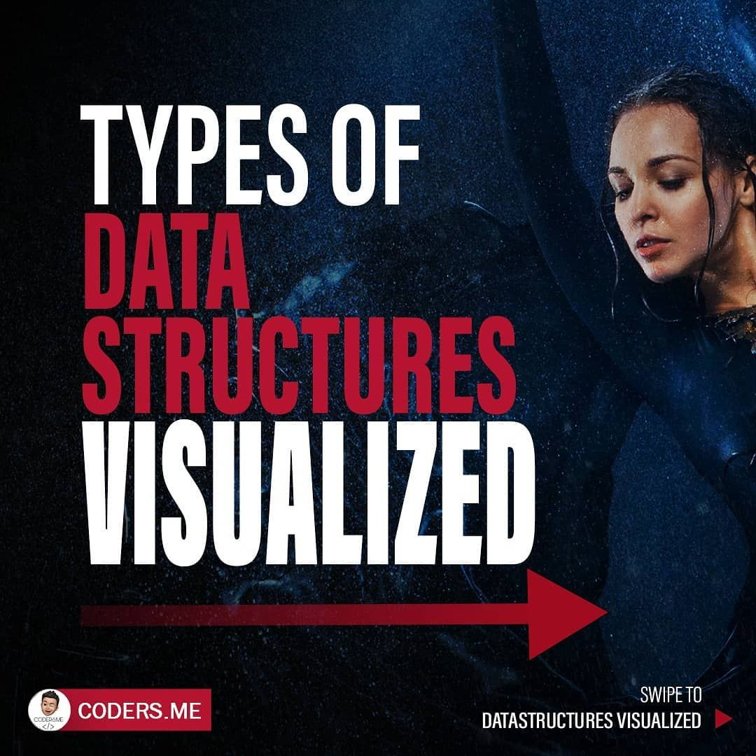 Types of data structures visualized