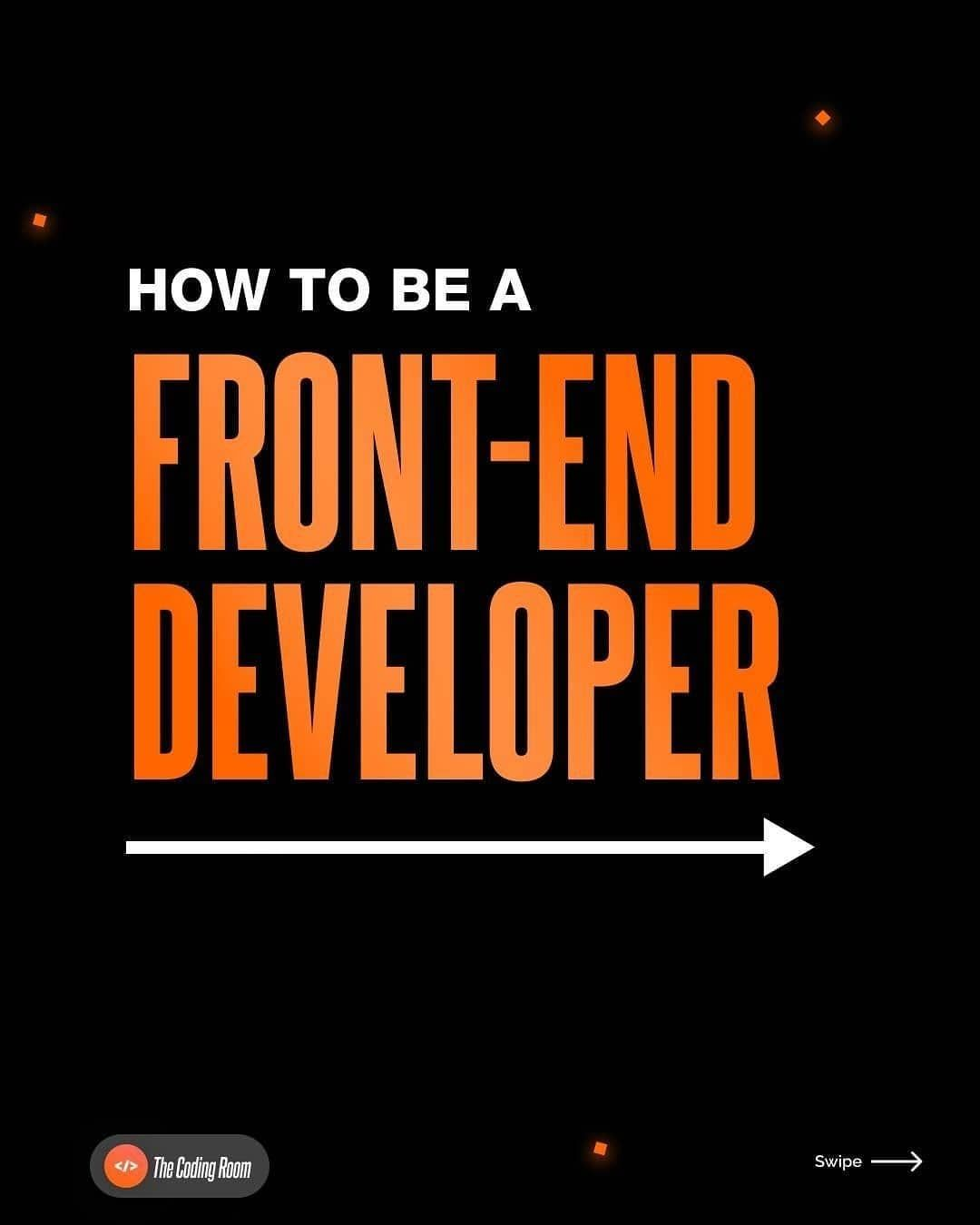 how to be a frontend developer