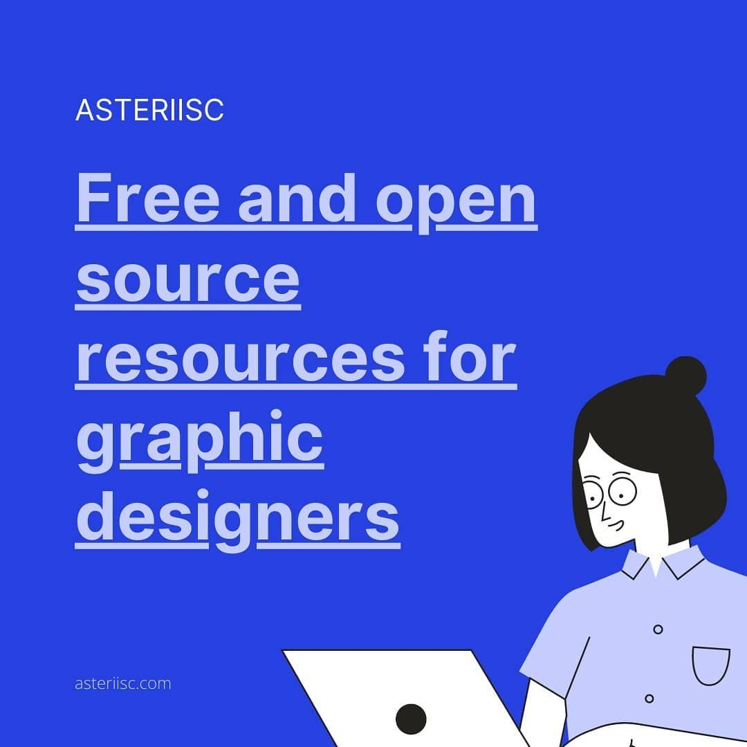 Free open source resources for graphic designer