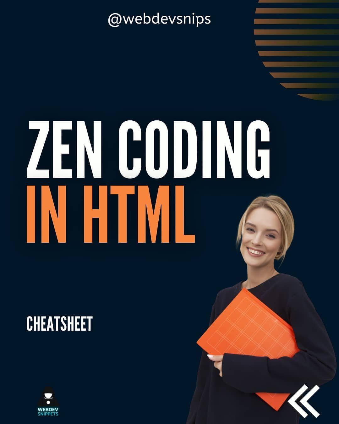 Zen coding in html