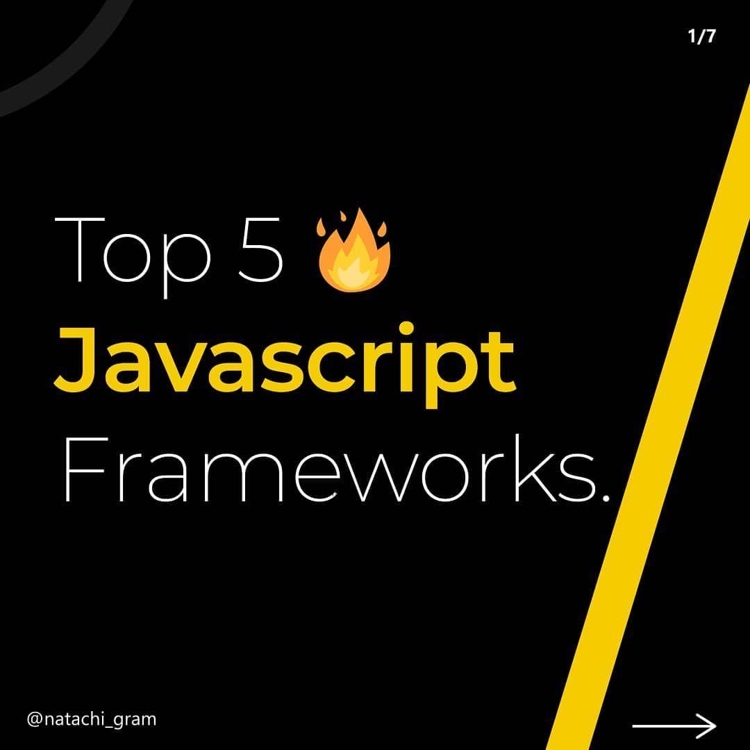 Top 5 javascript frameworks