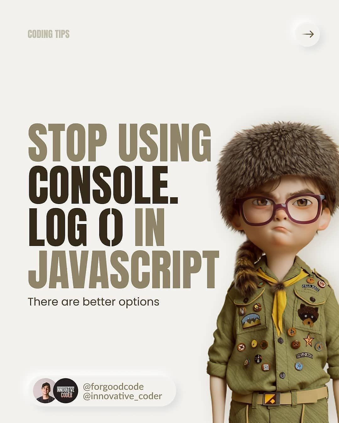 Stop using console.log in javascript