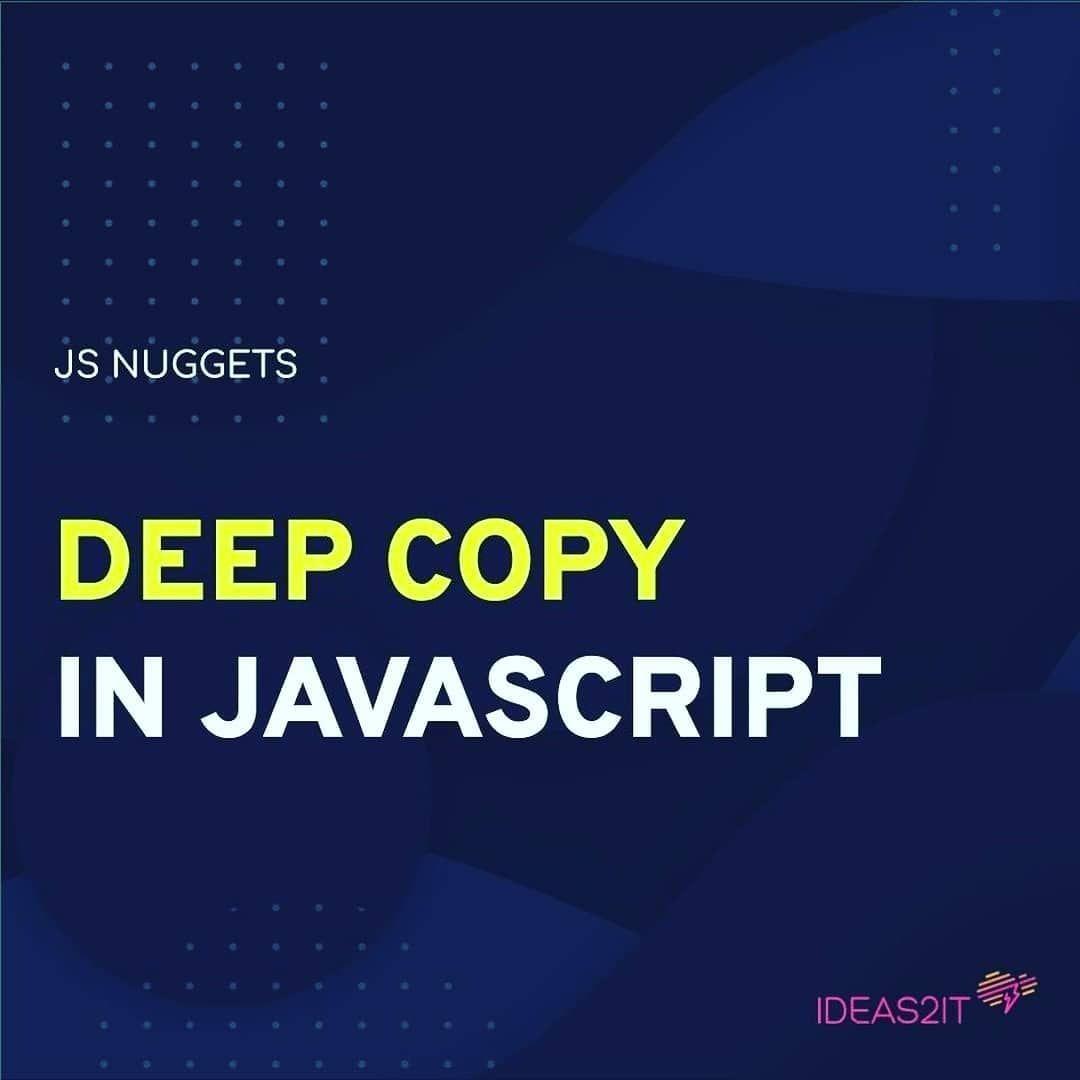 Deep copy in javascript