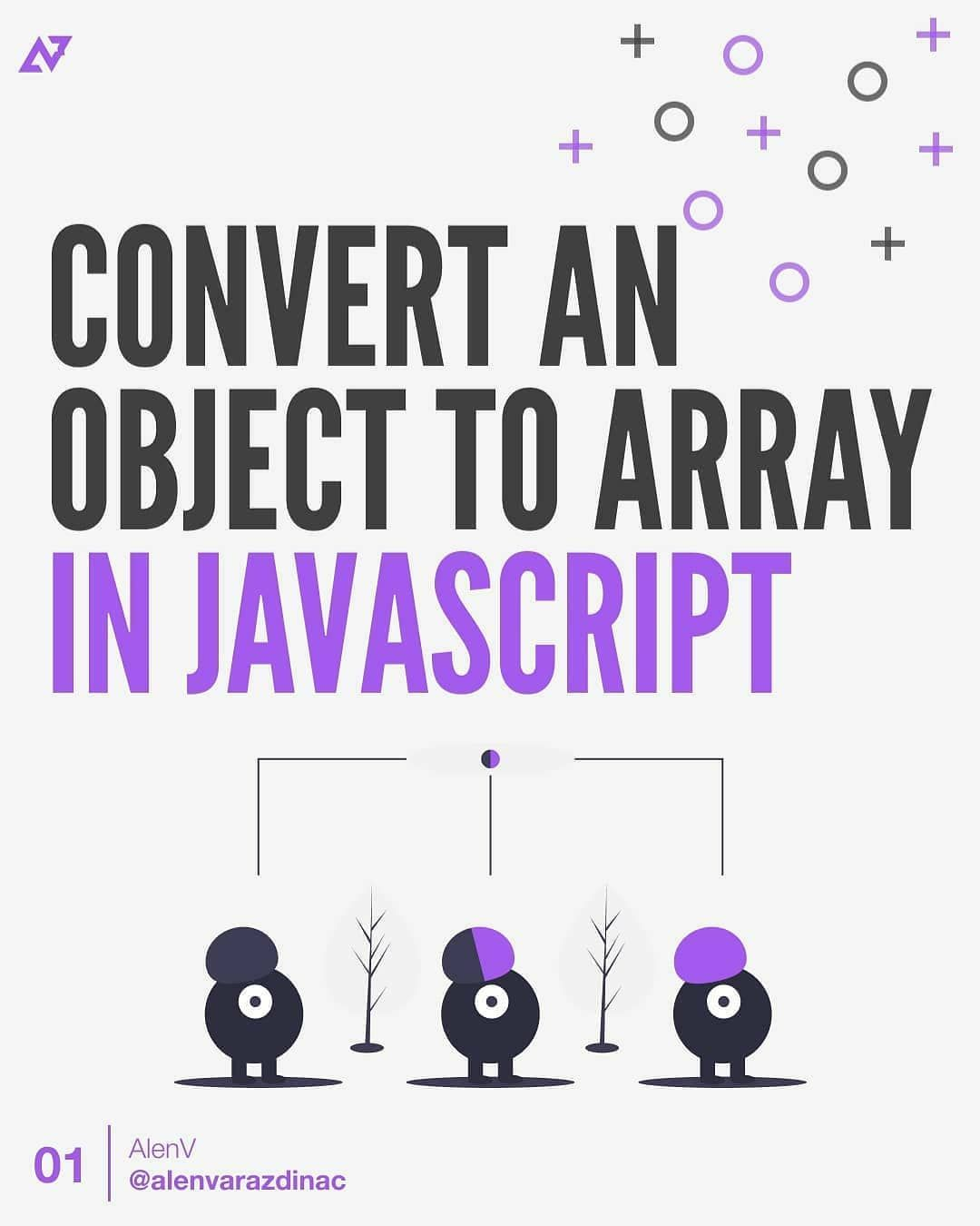 Convert an objetct to array in javascript