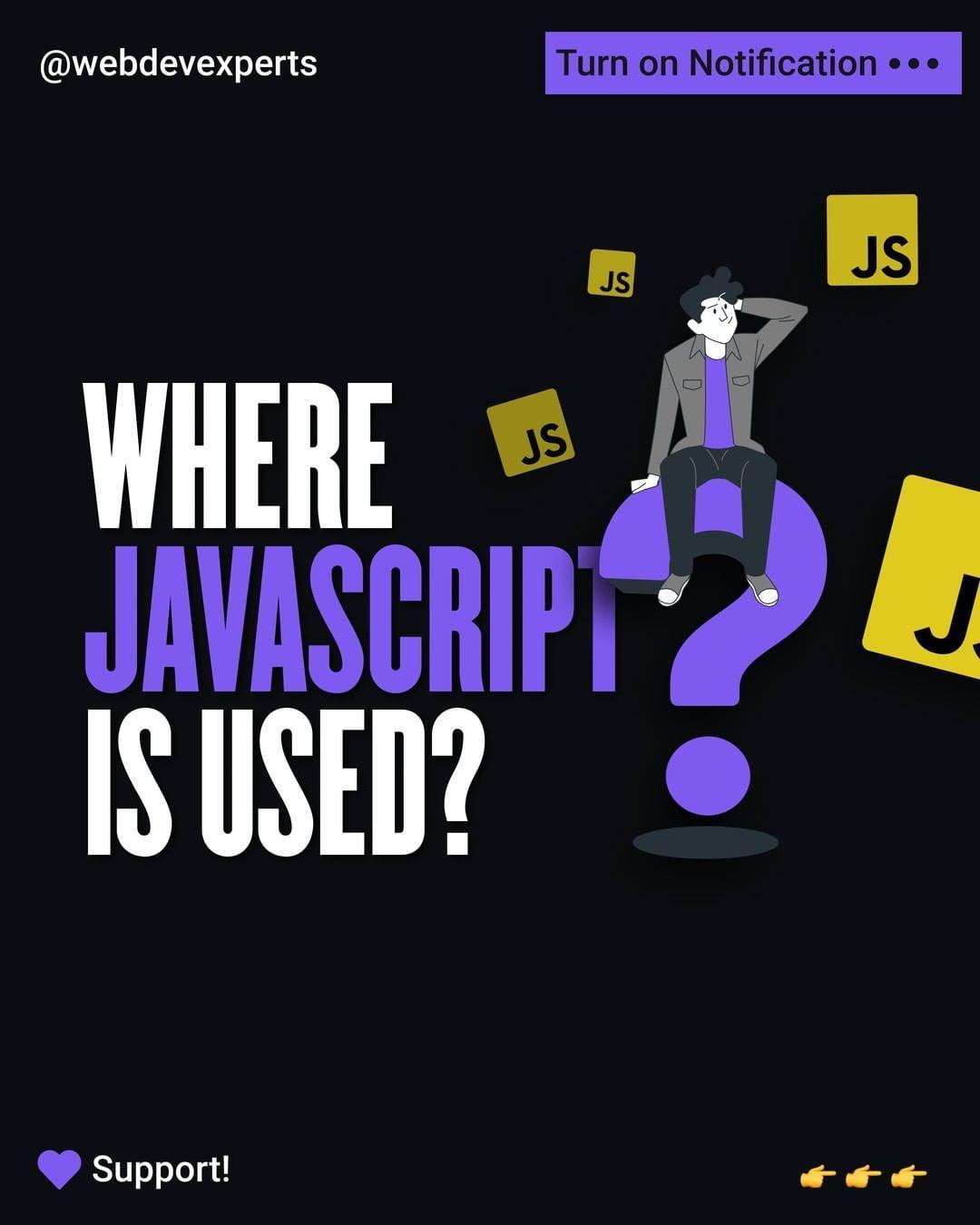 Where javascript is used