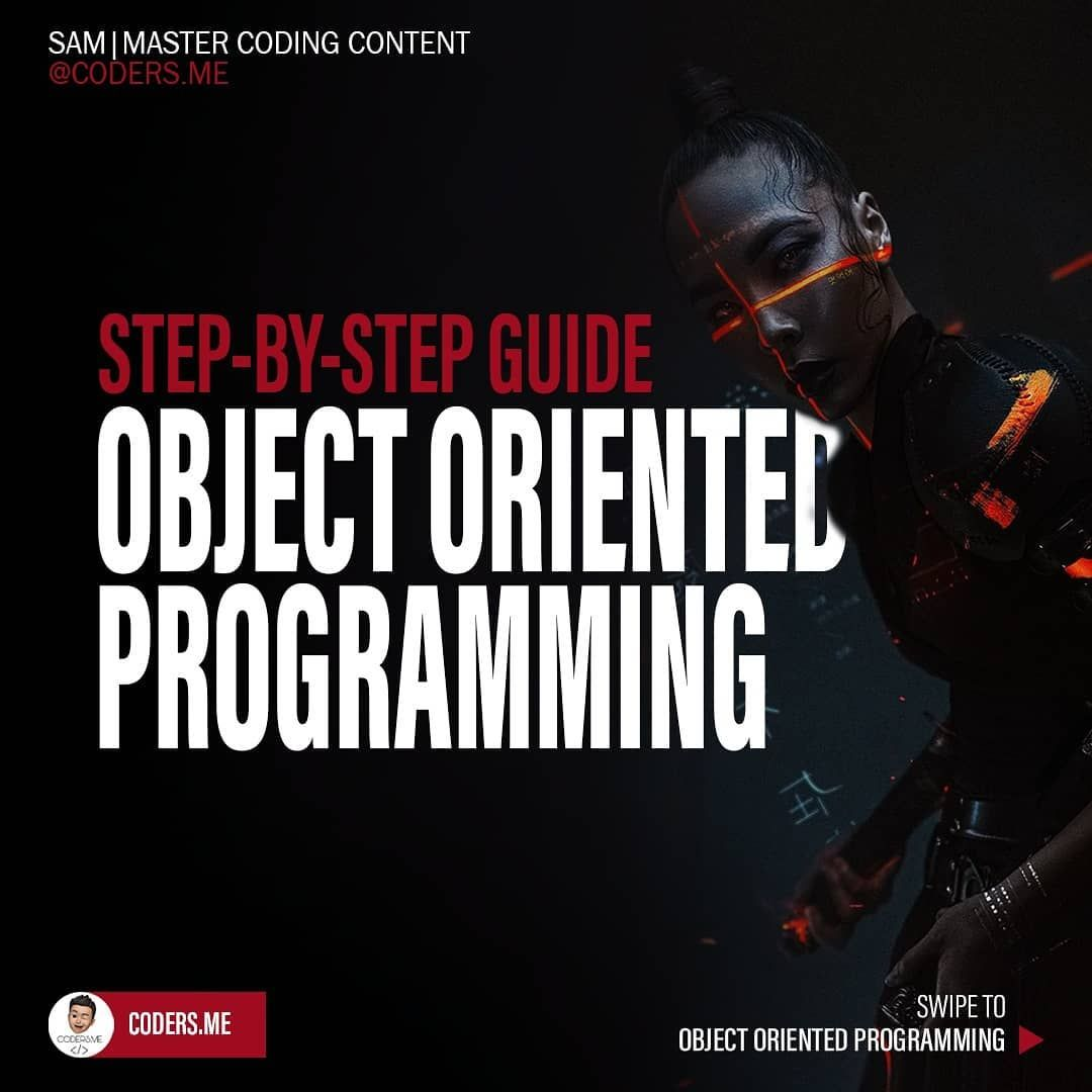 Step by step guide object oriented programming
