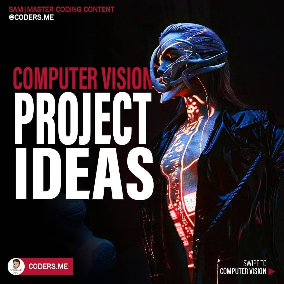 Computer vision project ideas