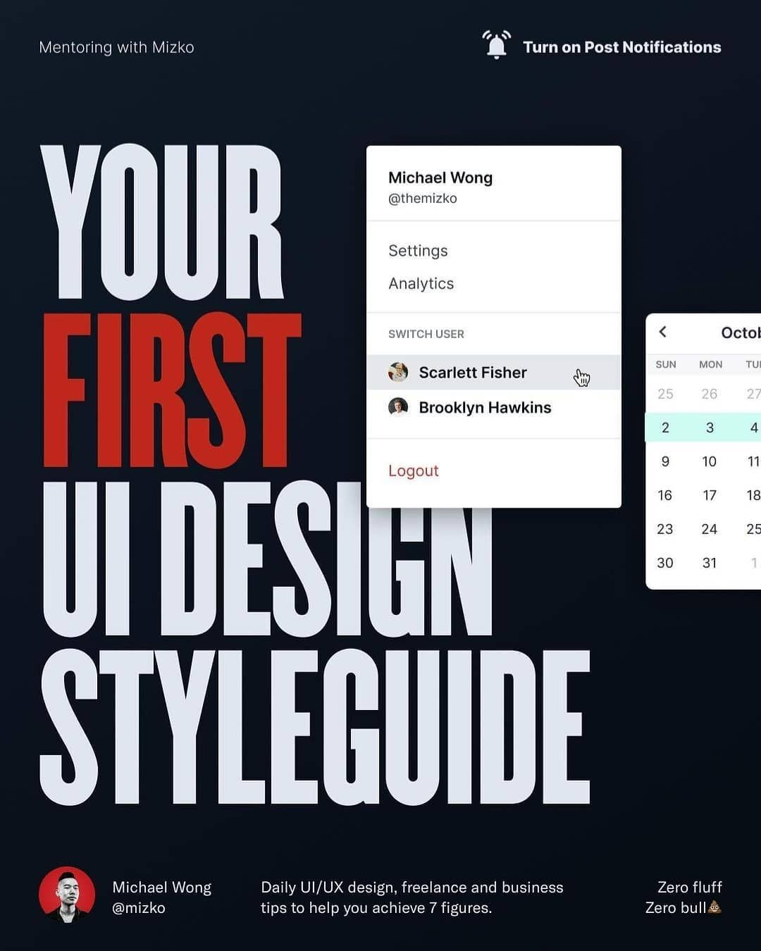 Your first ui design styleguide