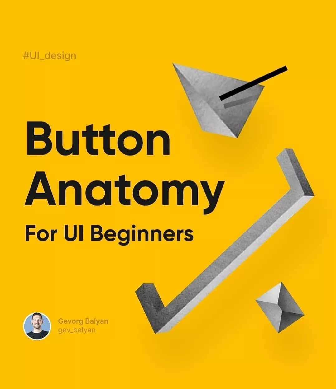 Button anatomy for ui beginners