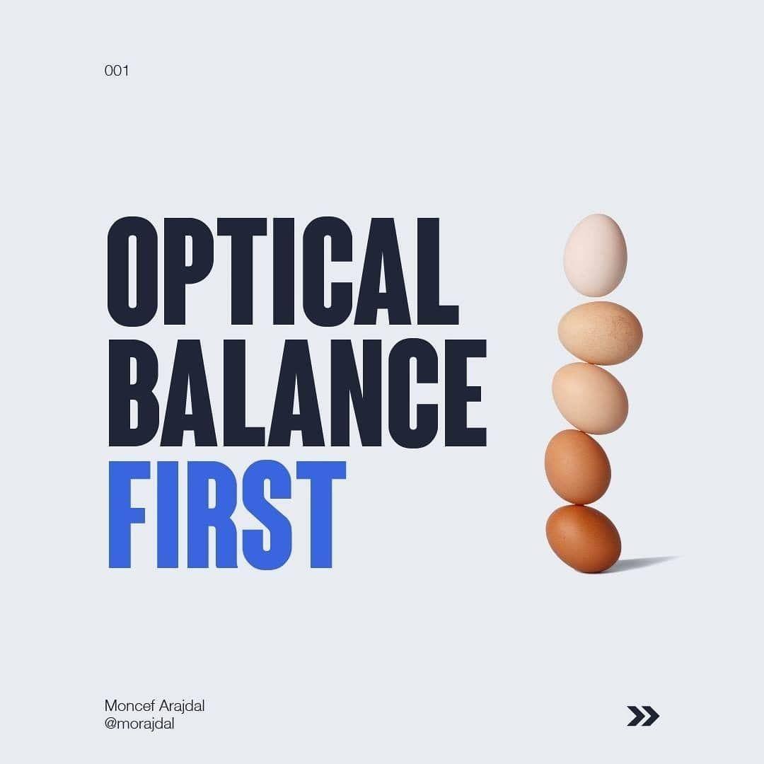 Optical balance first