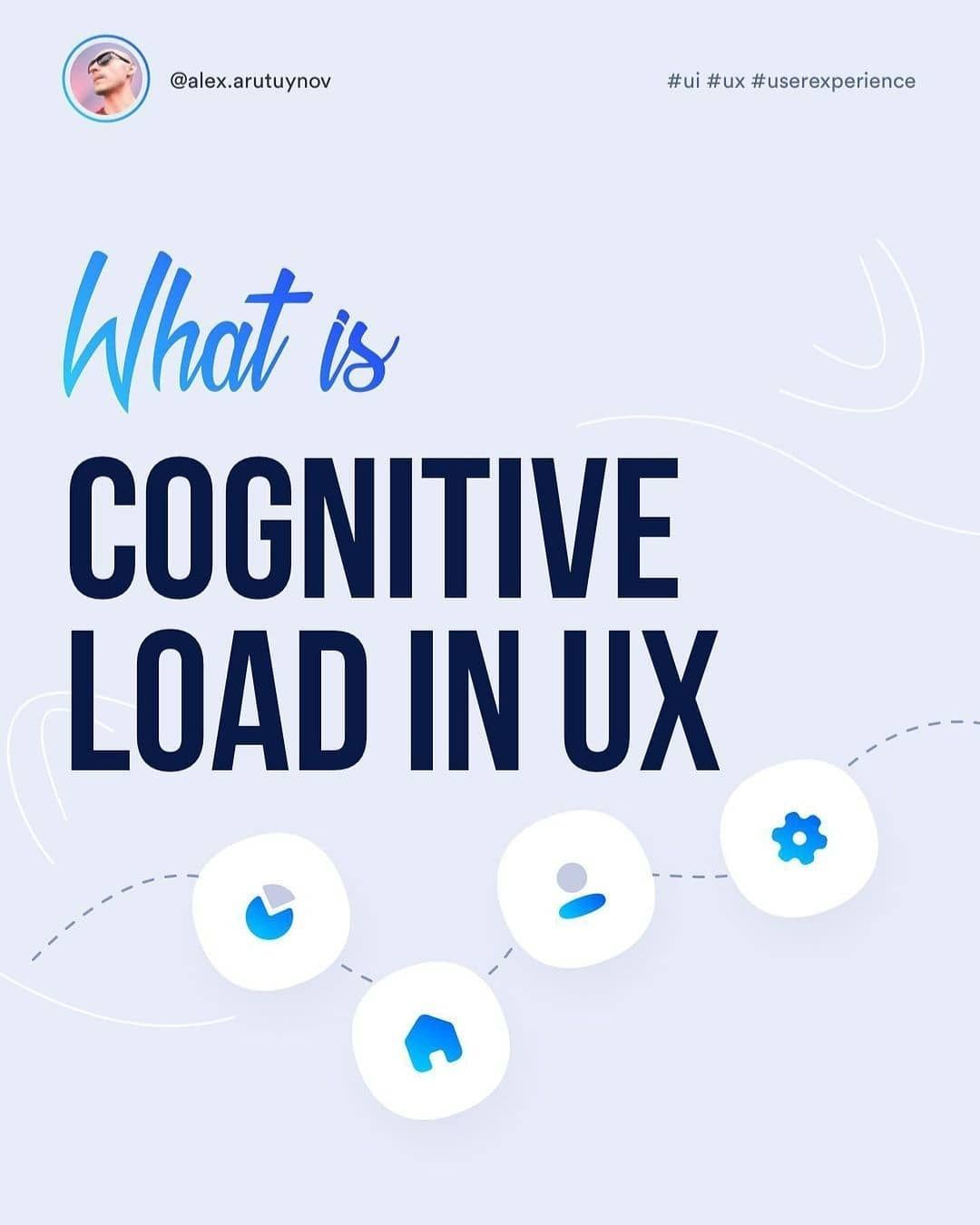 What is cognitive load in ux