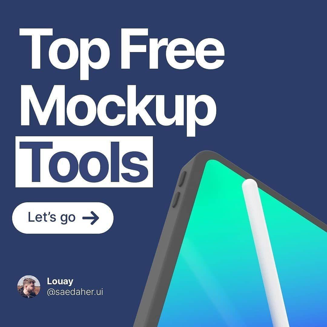 Top free mockups tools